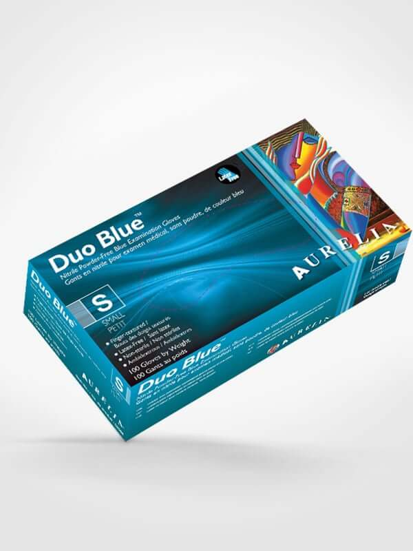 Aurelia Gloves Canada Duo Blue Box