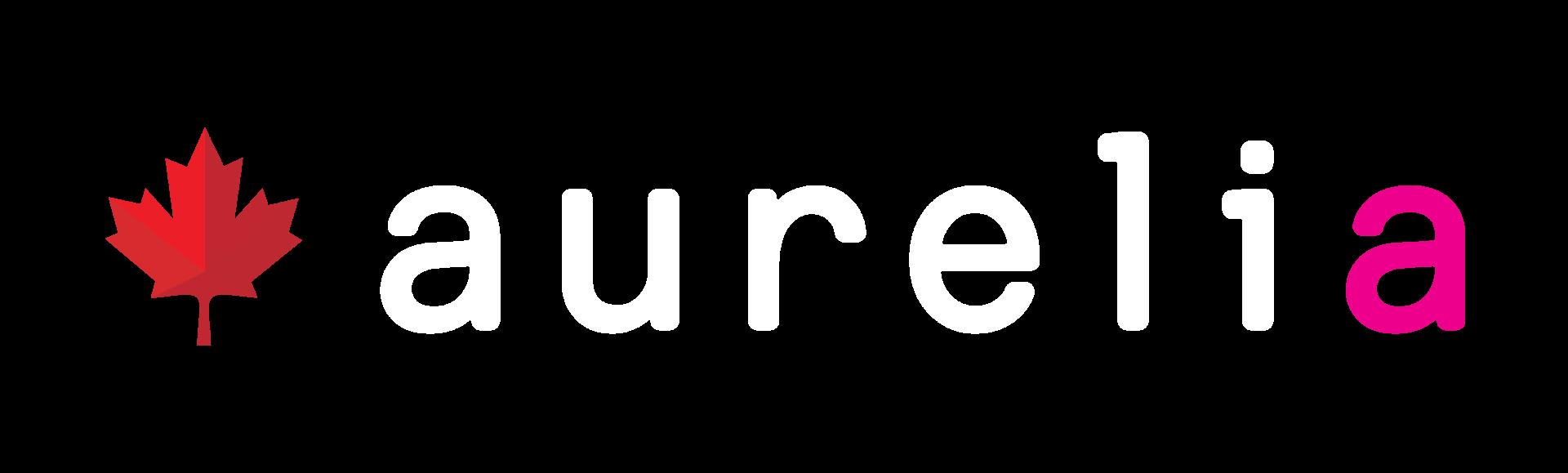 Aurelia-Maple-Leaf-Logo-white-pink
